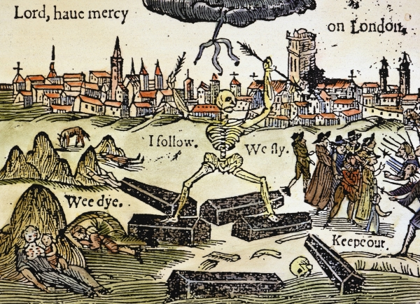 Long term effects of the black death