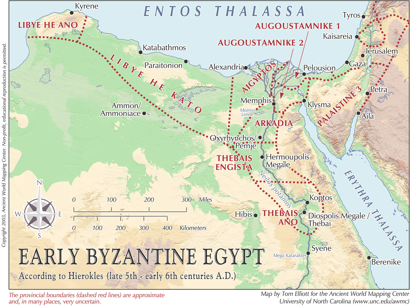 Ancient Egypt On World Map - Map of egypt on world map