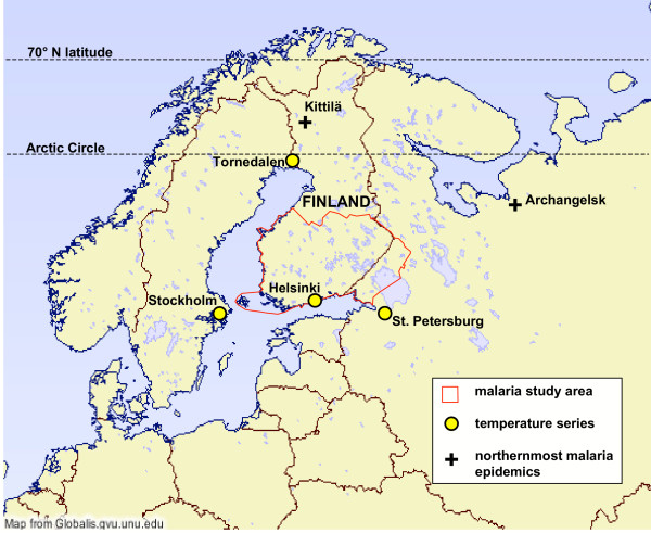 Malaria Near the Arctic Circle  Contagions